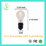 A19/A60 3W neue Heizfaden-Birne Whosale Lampe des Entwurfs-LED