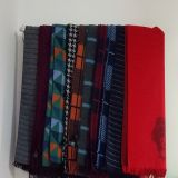 Scarves de seda longos da venda por atacado do cetim da cópia da forma