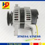 14V 45A de Alternator van de Delen van de 3tne84Dieselmotor 4tne88