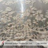 Tissu italien de lacet de beau lacet en ivoire (M2155)