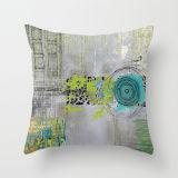 装飾的なクッションの水彩画プリント方法枕(FTCU-114)