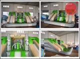 Castillo animoso de diversión de la hospitalidad inflable de la feria con la diapositiva (T3-709)