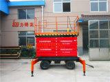 14m die manuelle mobile hydraulische Antenne Scissor Aufzug-Plattform (SJY0.5-14)