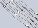 Flexsibleのステンレス鋼のフェルールケーブルの網