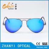 Óculos de sol coloridos do metal da forma para conduzir com Lense Polaroid (3025-C5)