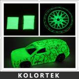 Glühen im dunklen Puder-Pigment für Auto-Lack