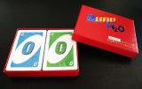 Tarjetas que juegan del juego de tarjeta del Uno PVC/Plastic