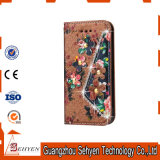 iPhone 6/6s를 위한 가죽 지갑 손가락으로 튀김 셀룰라 전화 상자
