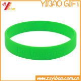 Abitudine di promozione nessun marchio braccialetto di gomma del silicone e di Wrisband (YB-HR-101)