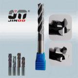 HRC55高精度のコーナーのRaduis R0.5の端製造所の製粉のツール