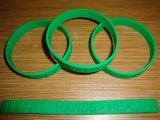 Regalo promozionale del commercio all'ingrosso del braccialetto del silicone di modo