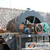 Usine mobile de machine à laver de sable pour le procédé de lavage de sable en Inde