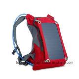 Sac à dos d'hydratation à l'eau Sac à dos Sac à dos avec sac à dos avec panneau solaire