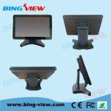 """15.6 """"pantallas de monitor comerciales del tacto del sistema de pago de Pcap del diseño plano verdadero"""