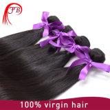 Het goedkope 100% Onverwerkte Natuurlijke Rechte Haar van het Weefsel van het Haar van de Kleur Maagdelijke Braziliaanse