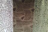 In reliëf gemaakt Fluweel 100% de TextielStof van de Polyester (EDM5115)