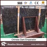 Natural Piedra de Mármol Dark Emperador Placas para Paredes y Suelos