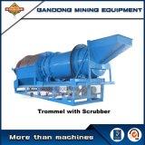 Scherm van de Zeeftrommel van de Mijnbouw van de Apparatuur van de Was van hoge Prestaties het Minerale