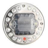 18의 LED 태양 에너지 RGB 저속한 차 바퀴 타이어 벨브 모자 빛