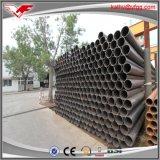 Marca de fábrica hueco negra de Youfa de los tubos de acero del agua y de la construcción de ASTM A53 Sch40 ERW