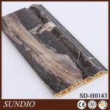 Bordage stratifié par film imperméable à l'eau de PVC de protection de l'environnement de WPC