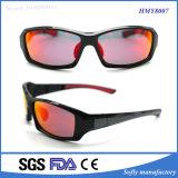 Stattlicher Plastik Sports Sonnenbrillen mit polarisiertem Objektiv