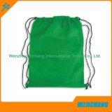 Bolso de lazo no tejido del color del llano del diseño del cliente
