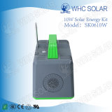 Kit multifonctionnel 10W Solar Home Lighting petit rechargeable