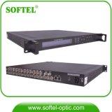 CATV H. 264 8 Canales HDMI para DVB-C Codificador modulador