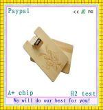 Cartão de madeira do USB do produto novo, cartão do USB (GC-M13)