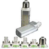 5W de Lamp van de LEIDENE 2000k/3000k/4000k/6000k G23/Gx23/G24/Gx24/E26/E27 G24 Stop