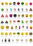 côté de pouvoir de dessin animé de Siliocone de bloc d'alimentation d'expression de licorne de 2600mAh Emoji