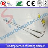Fühler K-Typetemperature mit Stecker-Temperatur-Zeile
