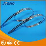 Säurebeständiger blanker Strichleiter-Typ Edelstahl-Kabel-Binden-Multi Verriegelungs-Typ