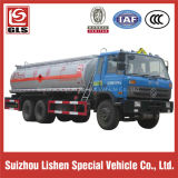 6X4 Dongfeng 15000Lの石油燃料タンクトラック