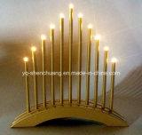Luz con pilas del puente de la vela de la Navidad del LED