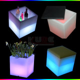 Magic Cube Mat LED Taburetes con Estera