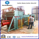Horizontale hydraulische Altpapier-Ballenpreßpresse-Selbstmaschine