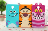 оптовая продажа случая мобильного телефона силикона случая сотового телефона шаржа iPhone 7 добавочная (DS-001)