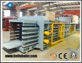 Presse à carton semi-automatique à cartouche horizontale avec coussin de pression hydraulique
