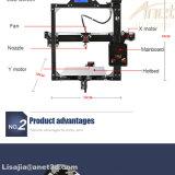3D 인쇄 기계 DIY Prusa I3 10m 필라멘트를 가진 크기 220*220*220/220*270*220mm LCD 2004/12864 선택권을 인쇄하는 알루미늄 금속 3D 인쇄 기계 장비
