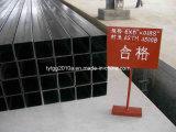 ASTM A500 schwarzes Quadrat-Rohr