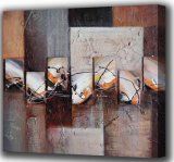 Pintura al óleo abstracta - nuevo diseño (ADA9680)