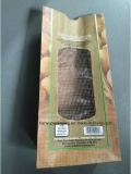 De vlakke Zak van het Document van Kraftpapier van de Bodem voor de Verpakking van Groenten