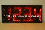 Muestra accionada por control remoto al aire libre de la visualización del precio de la gasolina de 8 pulgadas LED (TT20)
