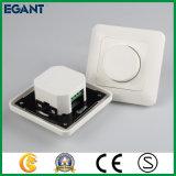 Commutateur simple fonctionnel obscur micro de régulateur d'éclairage de l'installation DEL