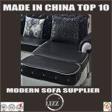 ヨーロッパデザイン居間の本革のソファー