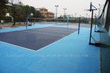 Polypropylen-modularer Volleyball-Bodenbelag für Volleyball-Gericht und anderes Sport-Gericht (Volleyball-Goldsilber-Bronze)