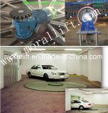 Plataforma giratória de giro automática do carro para o estágio do indicador