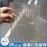 Лист поликарбоната самого лучшего качества прозрачный четырехслойный UV Coated